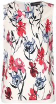 Thakoon layered floral tank - women - Silk/Polyester - 4