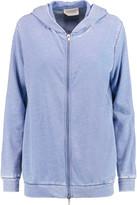 American Vintage Rexburg cotton-blend terry hooded top