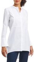 Foxcroft Women's Cally Non-Iron Stretch Cotton Tunic Shirt