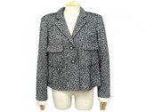 Chanel Grey Tweed Jacket for Women