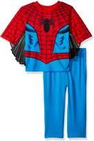 Spiderman Toddler Boys' 2-Piece Uniform Set with Webbing