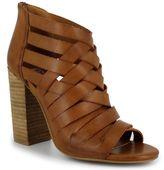 DOLCE by Mojo Moxy Dakota Women's Peep-Toe Ankle Boots