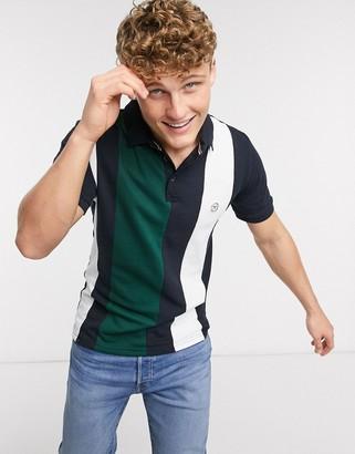 Le Breve striped polo shirt