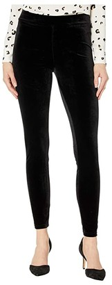 Hue Velvet Leggings (Black) Women's Casual Pants