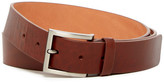 Trafalgar Smooth Leather Squared Tip Belt