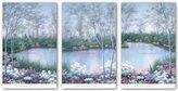 "McGaw Graphics Springtime Melody Set by Diane Romanello 36""x24"" Art Print Poster"