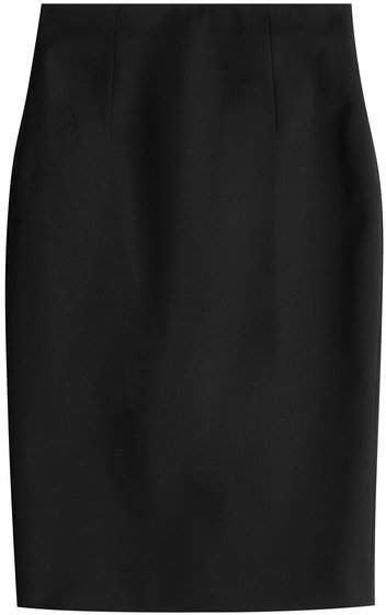 Alexander McQueen Virgin Wool Pencil Skirt
