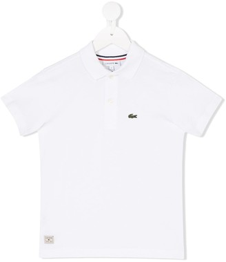 Lacoste Kids Logo Detail Polo Shirt