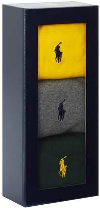 Polo Ralph Lauren Polo Pony Socks Gift Box (Pack of 3)