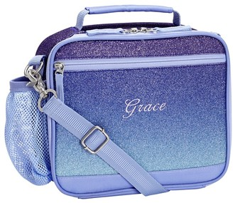Pottery Barn Kids Mackenzie Twilight Ombre Sparkle Glitter Lunch Boxes