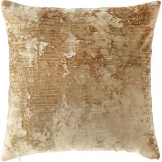 D.V. Kap Home Miranda Textured Pillow, Gold