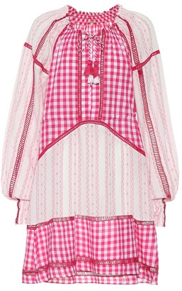 Dodo Bar Or Embellished cotton minidress