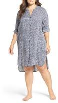 DKNY Plus Size Women's Boyfriend Nightshirt