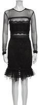 Thumbnail for your product : Three floor Crew Neck Mini Dress Black