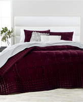 Martha Stewart Collection Tufted Velvet Twin Quilt, Created for Macy's