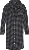 Maison Scotch Checked Shirt Dress