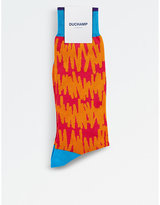 Duchamp Painterly Dash Socks