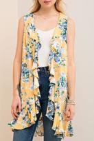 Entro Floral Sleeveless Vest