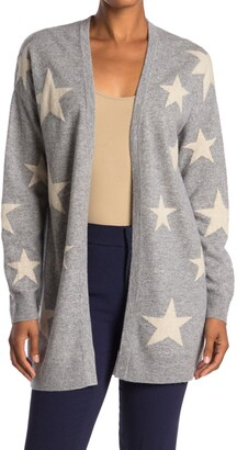 Magaschoni Star Open Front Cashmere Cardigan