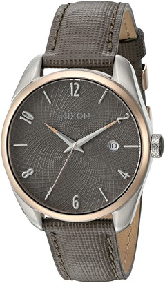 Nixon Women's 'Bullet' Quartz Stainless Steel and Leather Casual Watch