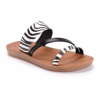 Muk Luks Women's Dahlia Sandals Black