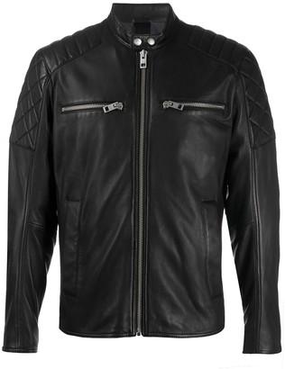 HUGO BOSS Front-Zip Long-Sleeve Jacket