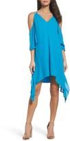 Adelyn Rae Women's Fiona Cold Shoulder Shift Dress
