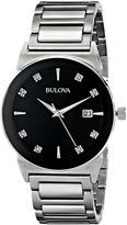 Bulova Mens Diamonds - 96D121