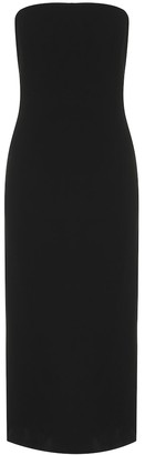 Givenchy Strapless bustier midi dress