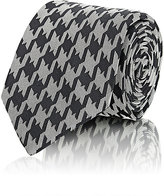 Barneys New York Men's Houndstooth Jacquard Necktie