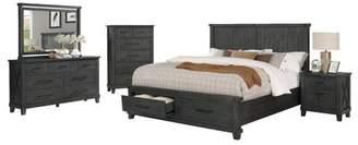 Gracie Oaks Gutshall Platform 5 Piece Bedroom Set Gracie Oaks Bed Size: Queen