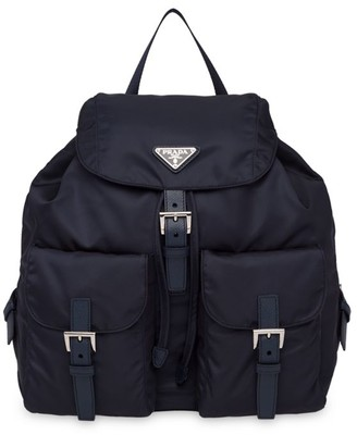Prada Large Vela Nylon Backpack