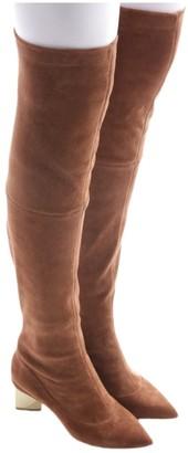 Nicholas Kirkwood Brown Suede Boots