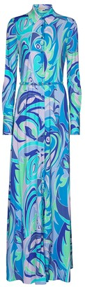Emilio Pucci Exclusive to Mytheresa Printed jersey maxi dress