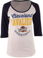 5th & Ocean Women's Cleveland Cavaliers Side Zone Raglan T-Shirt