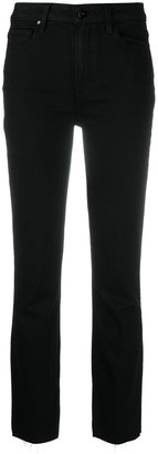 Paige High-Rise Straight Jeans