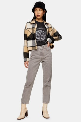 Topshop Taupe Fashion Jeans
