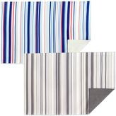 Bed Bath & Beyond Jelly Bean Stripe Reversible Placemat in Blue