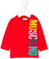 Moschino Kids logo printed top