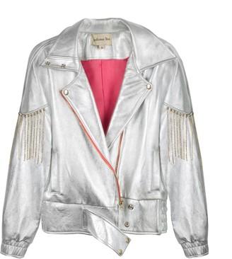 LIRA Paloma Silver Leather Jacket