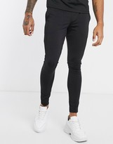 Asos Design DESIGN co-ord super skinny joggers in poly tricot with fixed hem