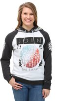 Mighty Fine Star Wars Join the Empire Junior's Hoodie