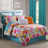 Asstd National Brand Fiesta Garden Cotton Reversible Comforter Set