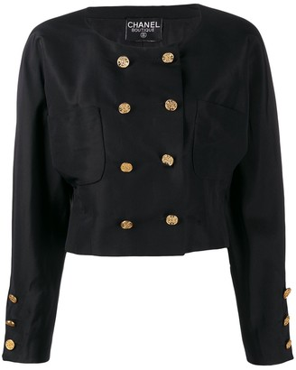 Chanel Pre Owned Cropped Jacket