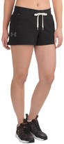 Under Armour Favorite French Terry Running Shorts (For Women)