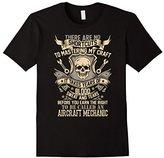 Special Tee Men's No Shortcuts To Be Called An Aircraft Mechanic T-Shirt 2XL