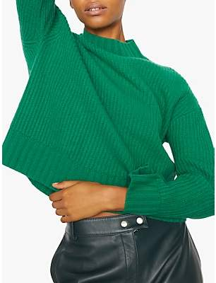 Jigsaw Wide Sleeve Ribbed Jumper