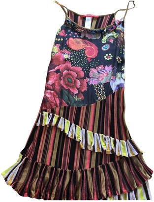 Christian Lacroix Multicolour Cotton - elasthane Dress for Women Vintage