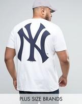 Majestic Plus New York Yankees Longline T-shirt