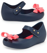 Mini Melissa Mini Ultragirl Bow Jelly Flat, 5T-10T